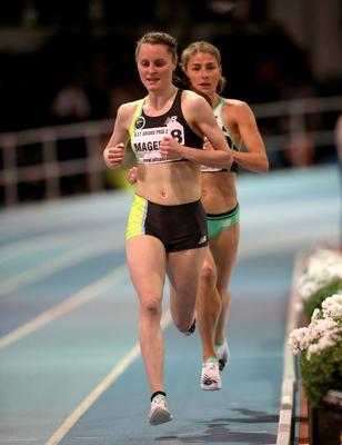 Record breaker: Ciara Mageean is setting her sights even higher