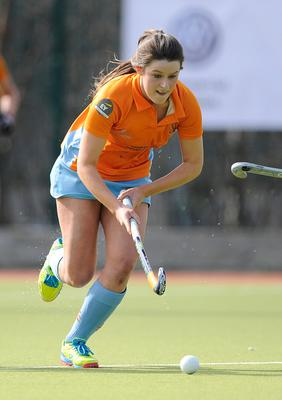 Amy Benson's Ards are second in the women's Premier League with 39 points from 15 games, behind Queen's on 42 points from 14 outings.