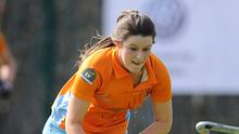 In vain: Ards ace Amy Benson hit a consolation in the semi