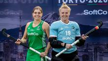 Off course: Ireland captain Katie Mullan and Ayeisha McFerran