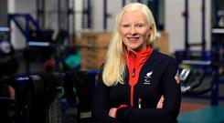 Opportunity: Kelly Gallagher has been selected for next month's Winter Paralympics