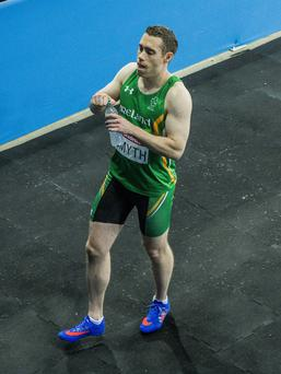 Striding ahead: Jason Smyth scorched through his heat