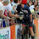 Win: Sarah Storey celebrates gold with daughter Louise