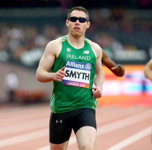 Frustrating time: Jason Smyth feels he was hitting his peak just in time for this summer