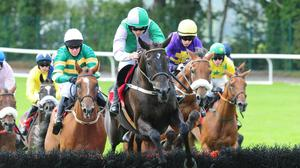 Minella Beau on his way to winning at Galway