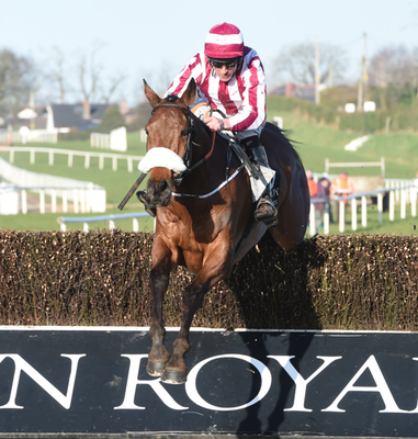 Davy Russell takes Mala Beach to victory in the feature race