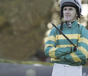 Tony McCoy pictured at Down Royal yesterday
