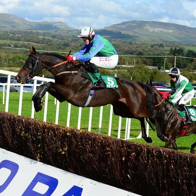 Katys Girl is spring heeled at Sligo