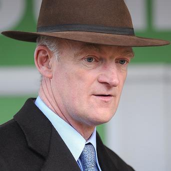 Willie Mullins had a pair of winners at Navan