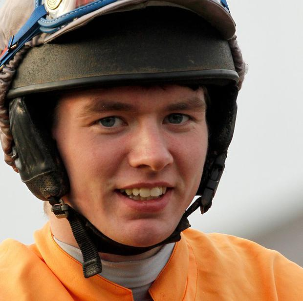 Derek Fox guided Charlie's vic to victory at Limerick