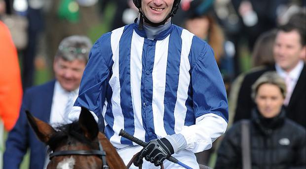 JT McNamara suffered a serious injury at Cheltenham