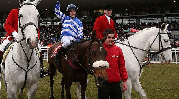 Liberty Counsel and Ben Dalton after winning the Irish National