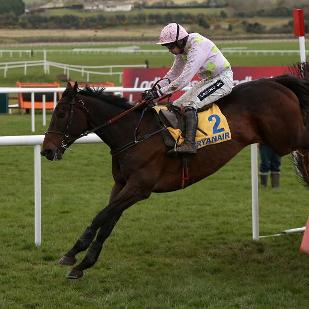 Arvika Ligeonniere, ridden by Ruby Walsh, wins at Punchestown