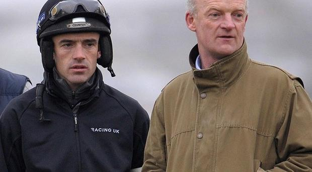 Ruby Walsh and trainer Willie Mullins