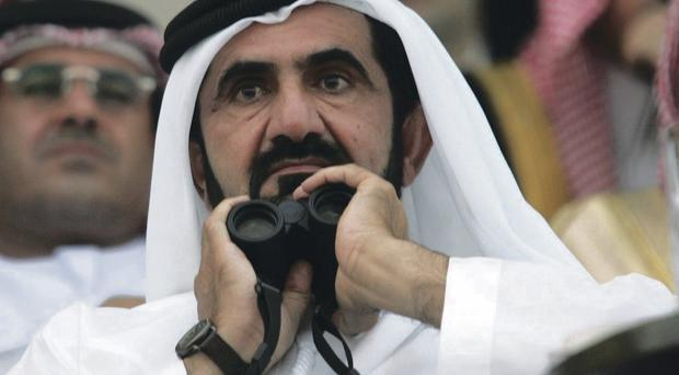 Lord Stevens will conduct inquiry into Sheikh Mohammed's (pictured) racing organisations