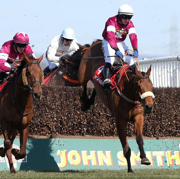 Quito De La Roque, right, will run at Punchestown on Thursday
