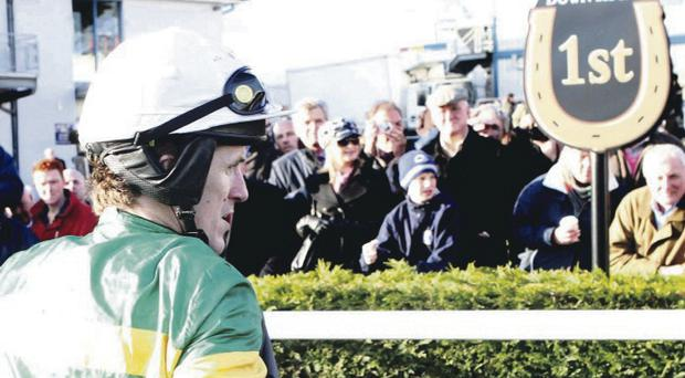 Local hero: Tony McCoy, pictured here at the Down Royal Festival, is always a massive favourite with Northern Ireland fans