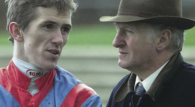 Winning combination: AP McCoy and Martin Pipe shared more than a quarter of the jockey's 4,000 winners