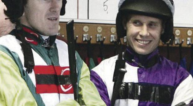 Rivals: Richard Johnson has been in AP McCoy's shadow
