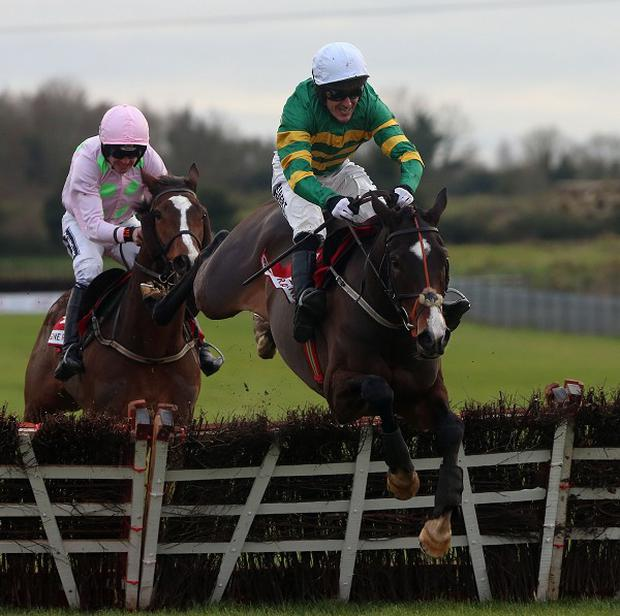 Jezki and Tony McCoy win The Bar One Racing Hatto's Grace Hurdle at Fairyhouse
