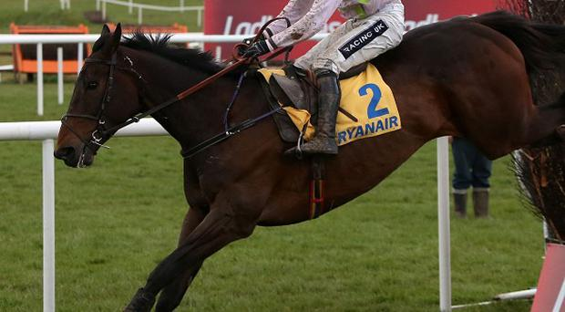 Arvika Ligeonniere and Ruby Walsh came home by nine lengths