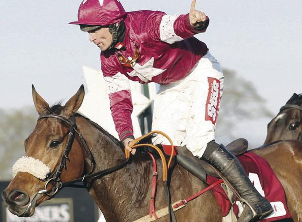 Davy Russell will be in action at Downpatrick today