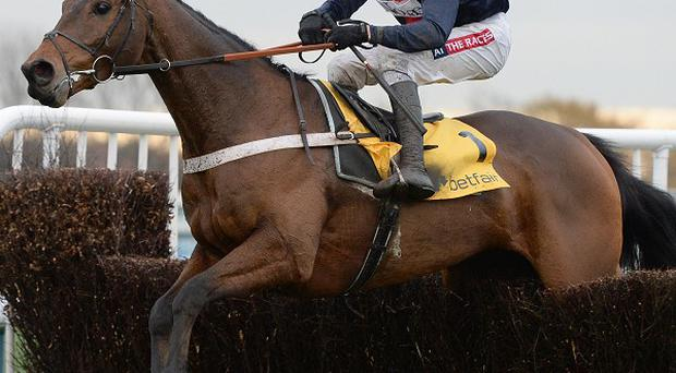 Bob's Worth and Barry Geraghty won the Lexus Chase