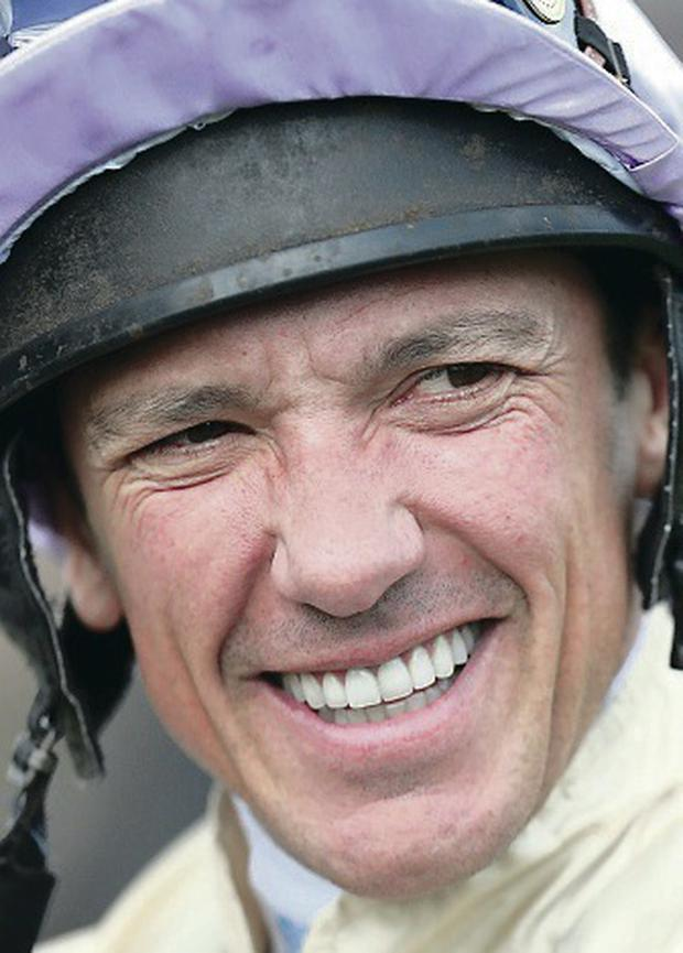 Raring to go: Frankie Dettori is back after long lay-off