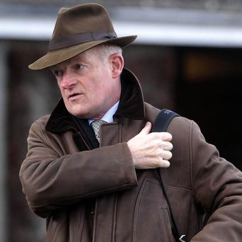 Willie Mullins has entered eight horses in the English Grand National