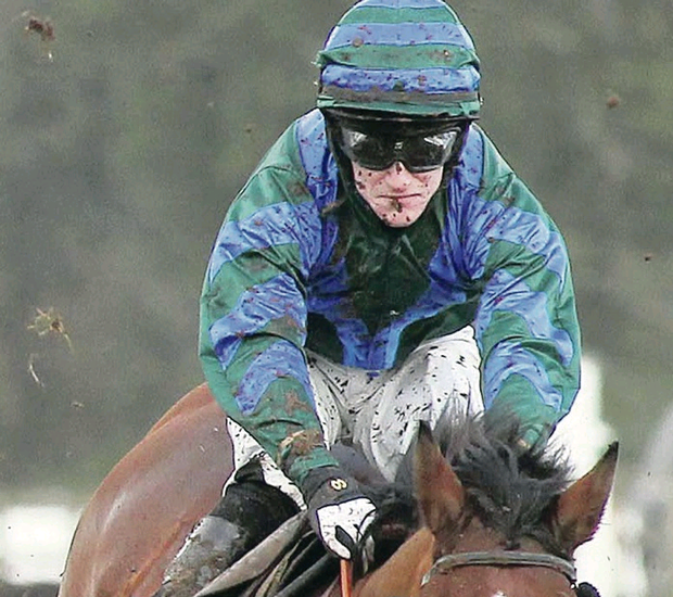 Mark Me Up, with Andrew Ring on board, on way to winning Martinstown Opportunity Chase at Down Royal yesterday