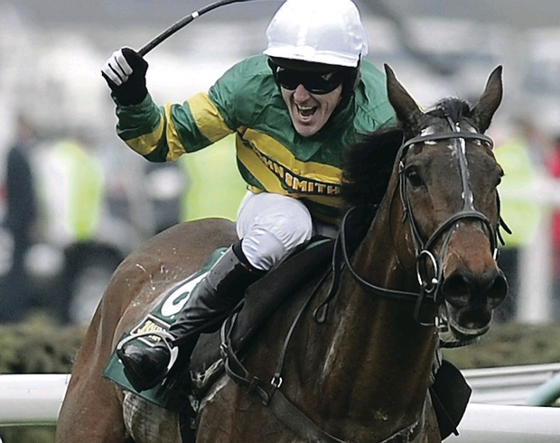 Prolific: Ulsterman Tony McCoy, closing in on a 19th successive title, returns to Ireland tomorrow to ride at Leopardstown