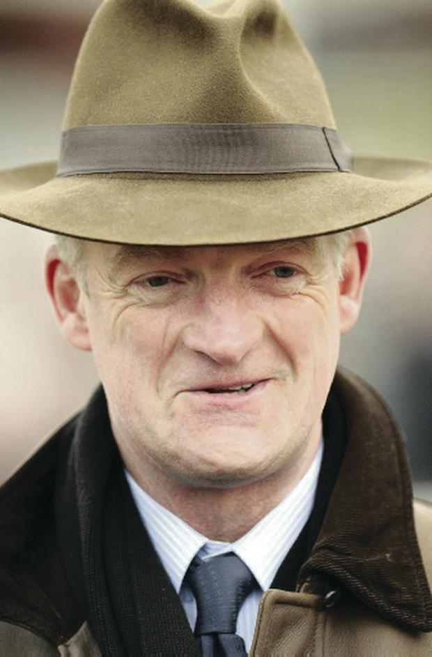 Getting ready: Willie Mullins is gearing up for Grand National