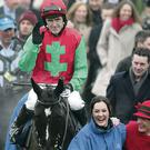 Ulster legend AP McCoy finally celebrated a winner at this year's Cheltenham Festival on board Taquin Du Seuil yesterday