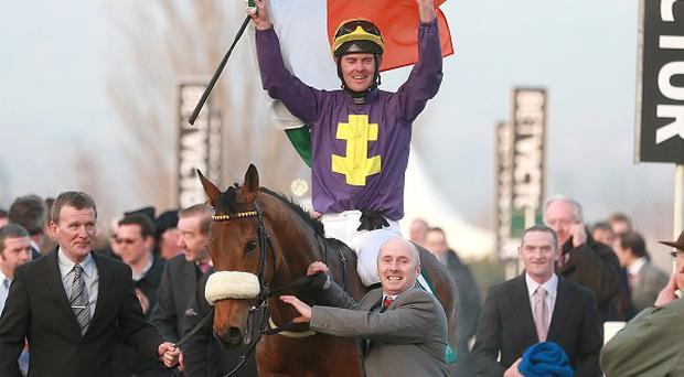 Silver Concorde claimed the Champion Bumper at Cheltenham earlier this month