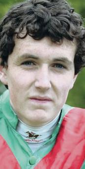 Cruel: Jonjo Bright was seriously injured last year in a fall at a point-to-point fixture at Tyrella