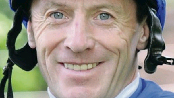 Raring to go: Kieren Fallon rides True Story in tomorrow's Derby