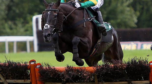 On The Record and Tony McCoy in front on the way to a record-equalling victory at Uttoxeter