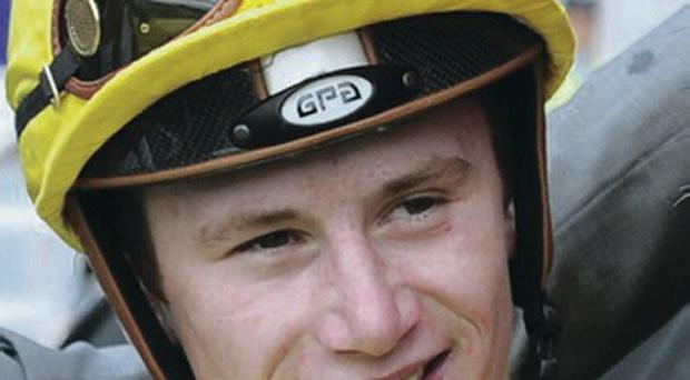 In the saddle: Oisin Murphy links up with Master Carpenter