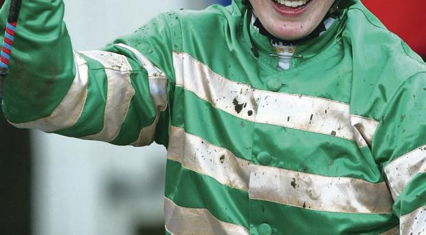 Victory pointer: Nina Carberry is Downpatrick tip on Ladies Day