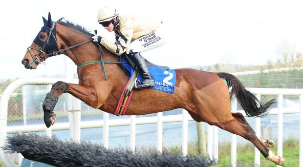 Lucky Bridle leads all the way under Paul Townend