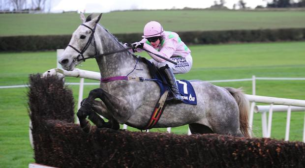 Champagne Fever on his way to winning at Clonmel