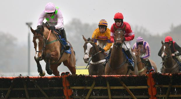 Faugheen on his way to winning under Ruby Walsh