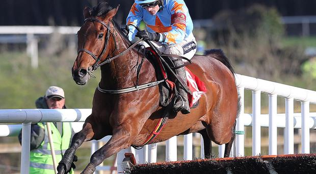 First to the punch: Ruby Walsh and Un de Sceaux on way to winning at Punchestown