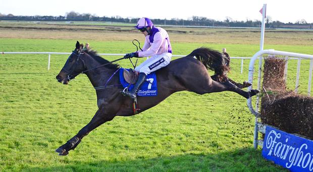Val De Ferbet puts in a sound jump in the hands of Ruby Walsh