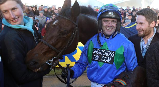 Double success: Ruby Walsh