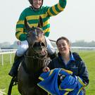 Top jockey: Barry Geraghty is one of the big names in action at Downpatrick today