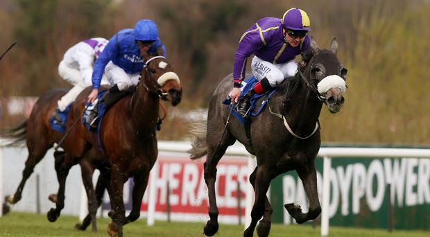 Stormfly powers clear in the 1,000 Guineas Trial