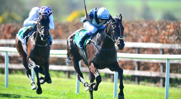 Bocca Baciata races clear in the hands of Fran Berry