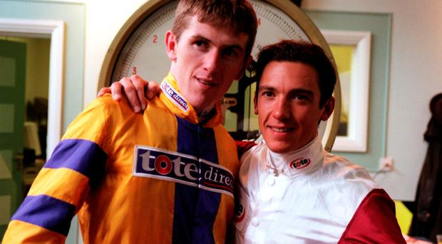 Tony McCoy and Frankie Dettori in 1999