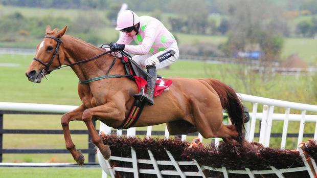 No sign of a mistake from Annie Power at the last this time